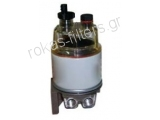 Fuel water separator filter SFR12P3FW with bowl